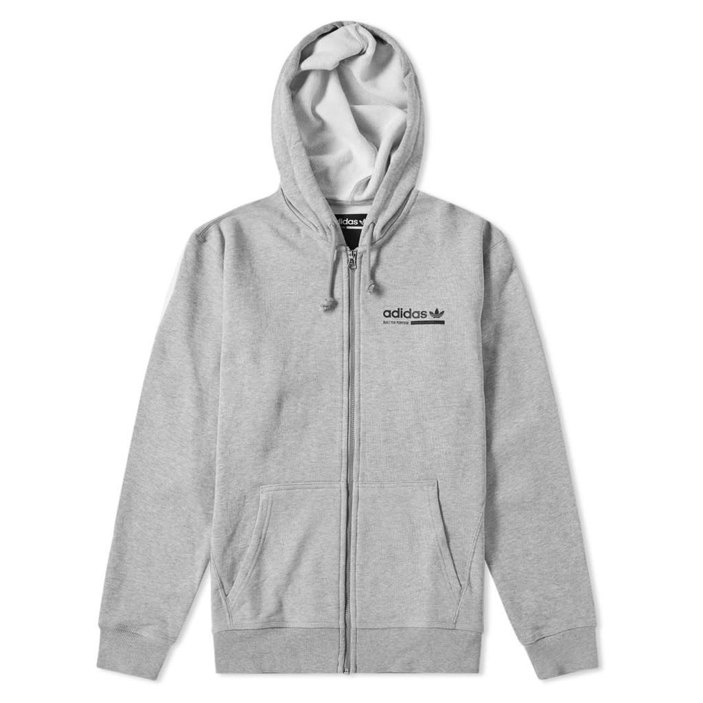Adidas Kaval Hoody Grey Heather