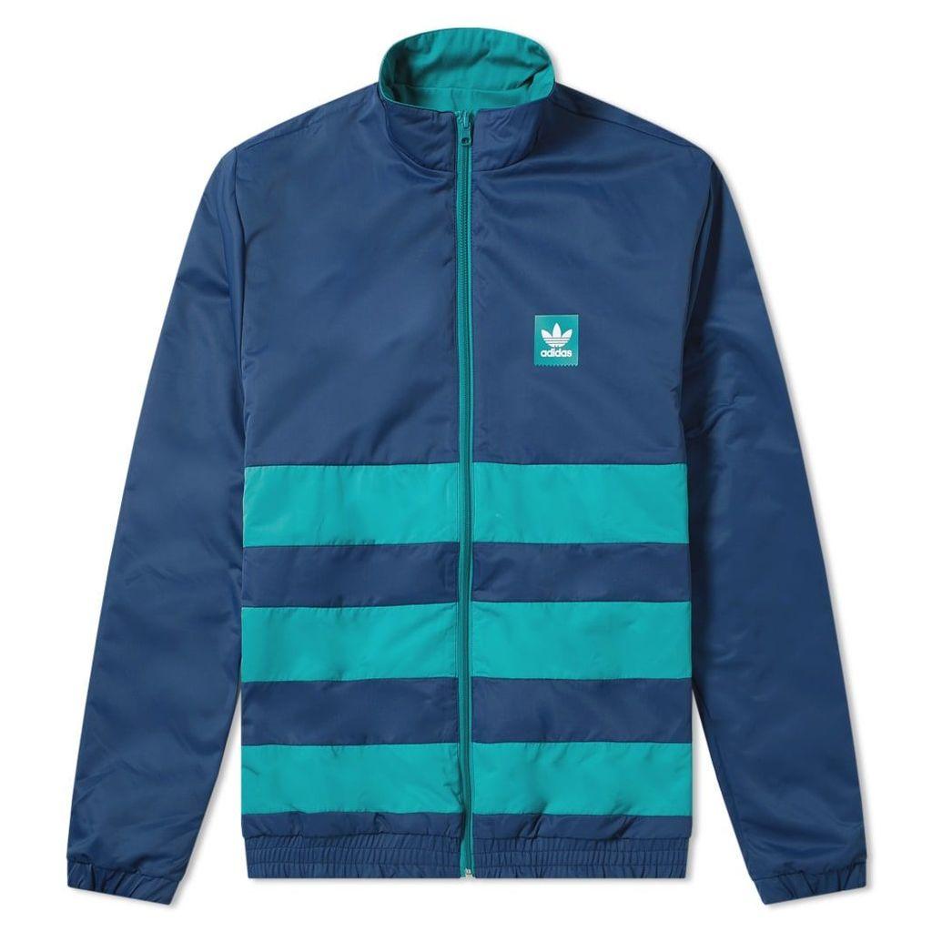 Adidas Reversible Weidler Jacket Collegiate Navy & Green