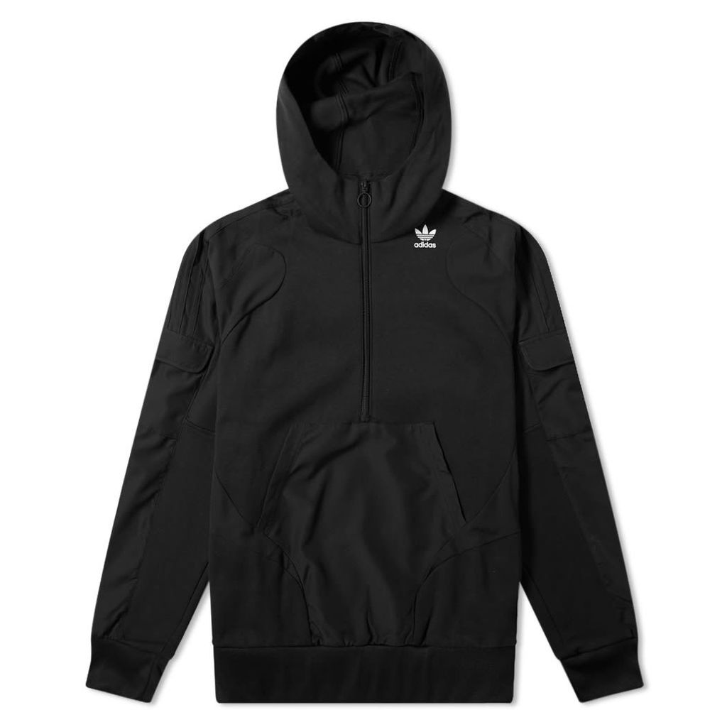 Adidas Technical Half Zip Hoody Black
