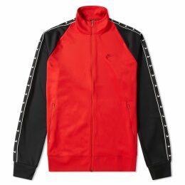 Nike Taped Track Jacket Red, Black & White