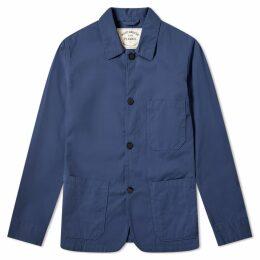 Portuguese Flannel Labura Chore Jacket Navy