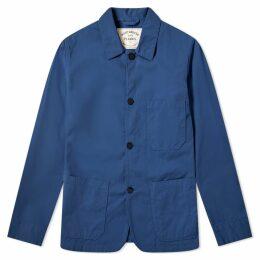 Portuguese Flannel Labura Chore Jacket Blue