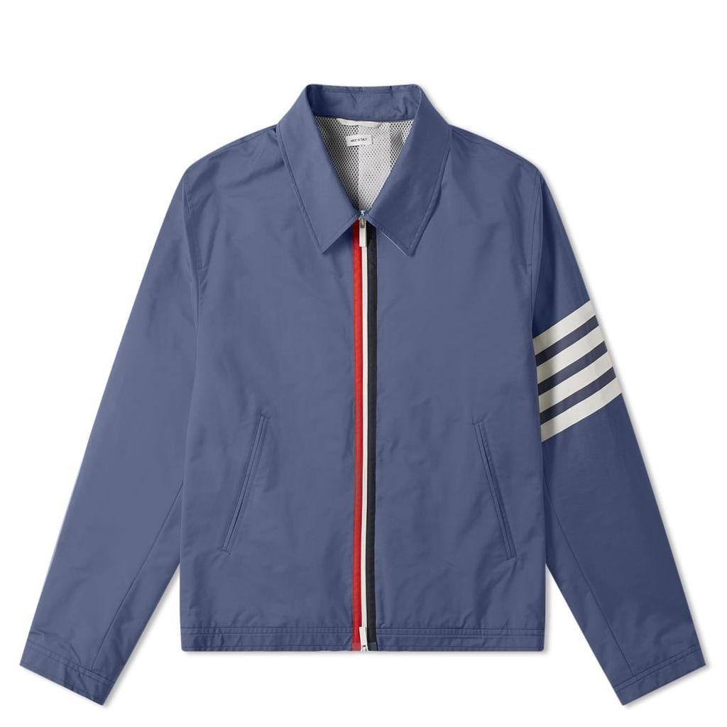 Thom Browne 4 Bar Golf Jacket Navy