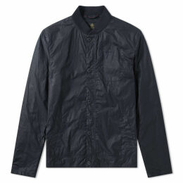 Barbour Longitude Wax Jacket Royal Navy