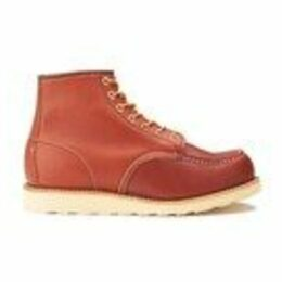 Red Wing Men's 6 Inch Moc Toe Leather Lace Up Boots - Oro Russet Portage - UK 7/US 8