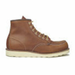 Red Wing Men's 6 Inch Moc Toe Leather Lace Up Boots - Oro Legacy - UK 10/US 11