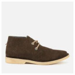 Superdry Men's Rallie Desert Boots - Light Brown/Natural - UK 9 - Brown