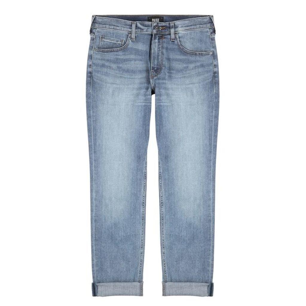 Paige Federal Light Blue Slim-leg Jeans