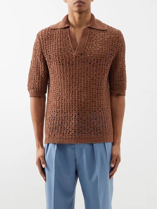 Nemen - Crushed Technical Trousers - Mens - Black