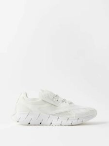 Deveaux - Belted Cotton Twill Cargo Trousers - Mens - Navy