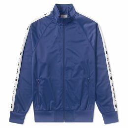 Carhartt Goodwin Track Jacket Metro Blue & White