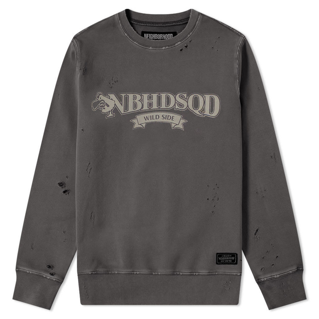 Neighborhood Wild Side Crew Sweat Black