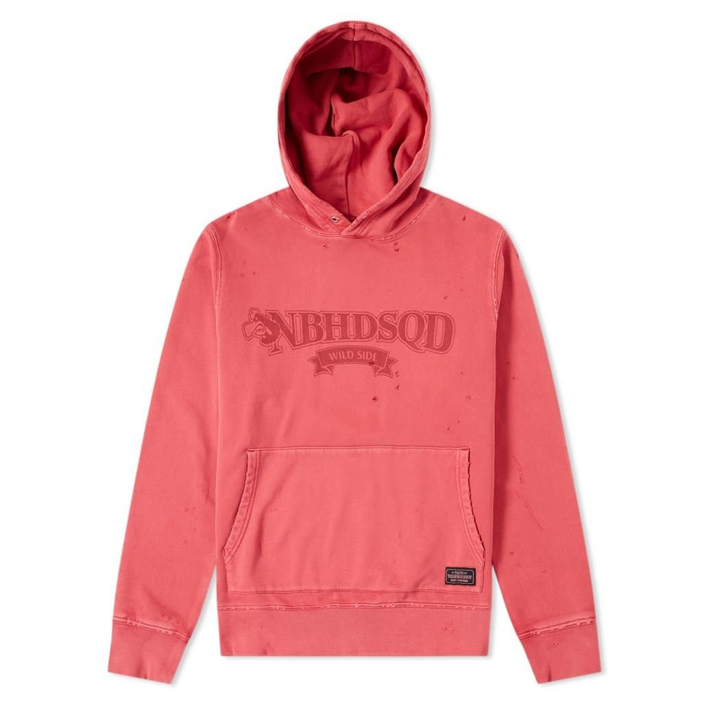 Neighborhood Wild Side Hoody Red