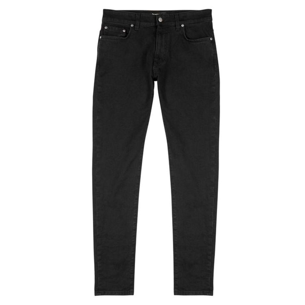 Represent Essential Black Slim-leg Jeans