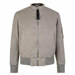 Neil Barrett Distressed Bomber Jacket