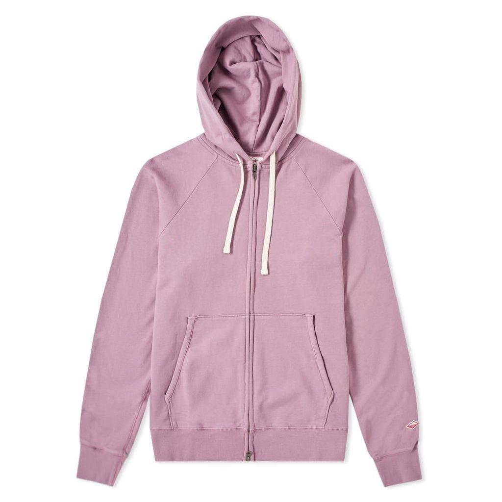 Battenwear Reach-Up Zip Hoody Dark Lavender