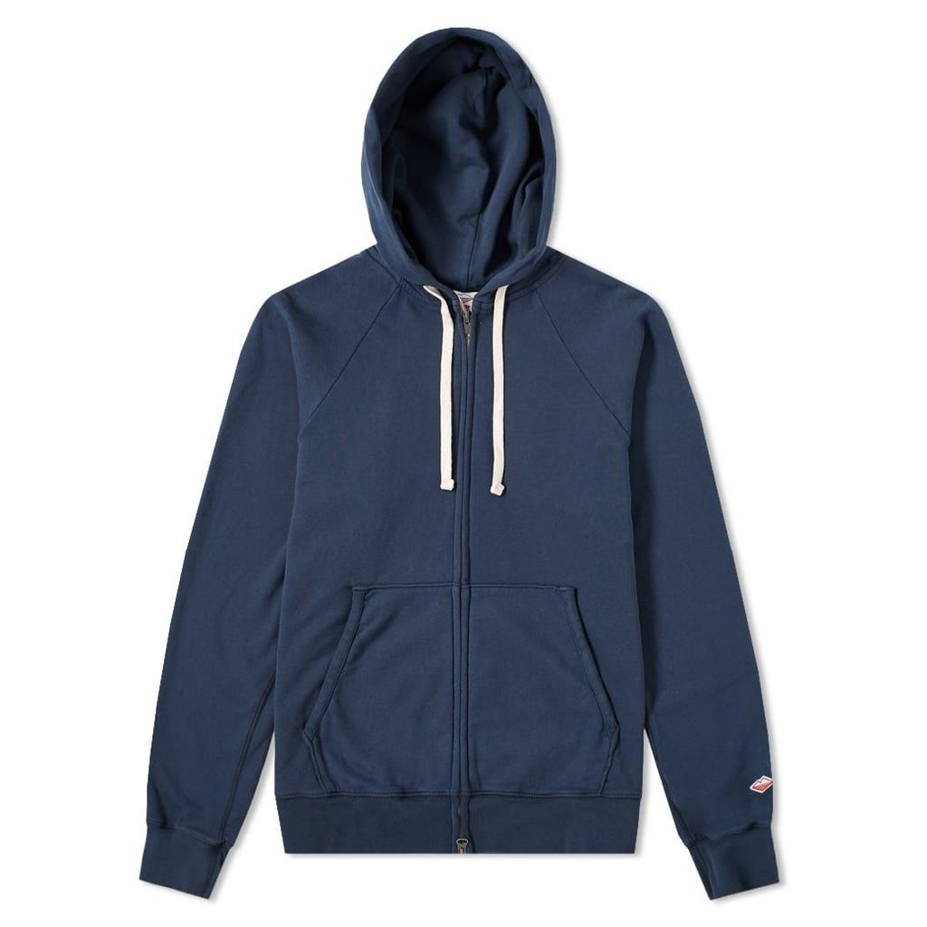 Battenwear Reach-Up Zip Hoody Navy