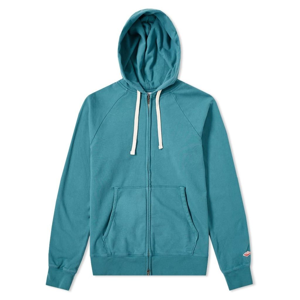 Battenwear Reach-Up Zip Hoody Teal