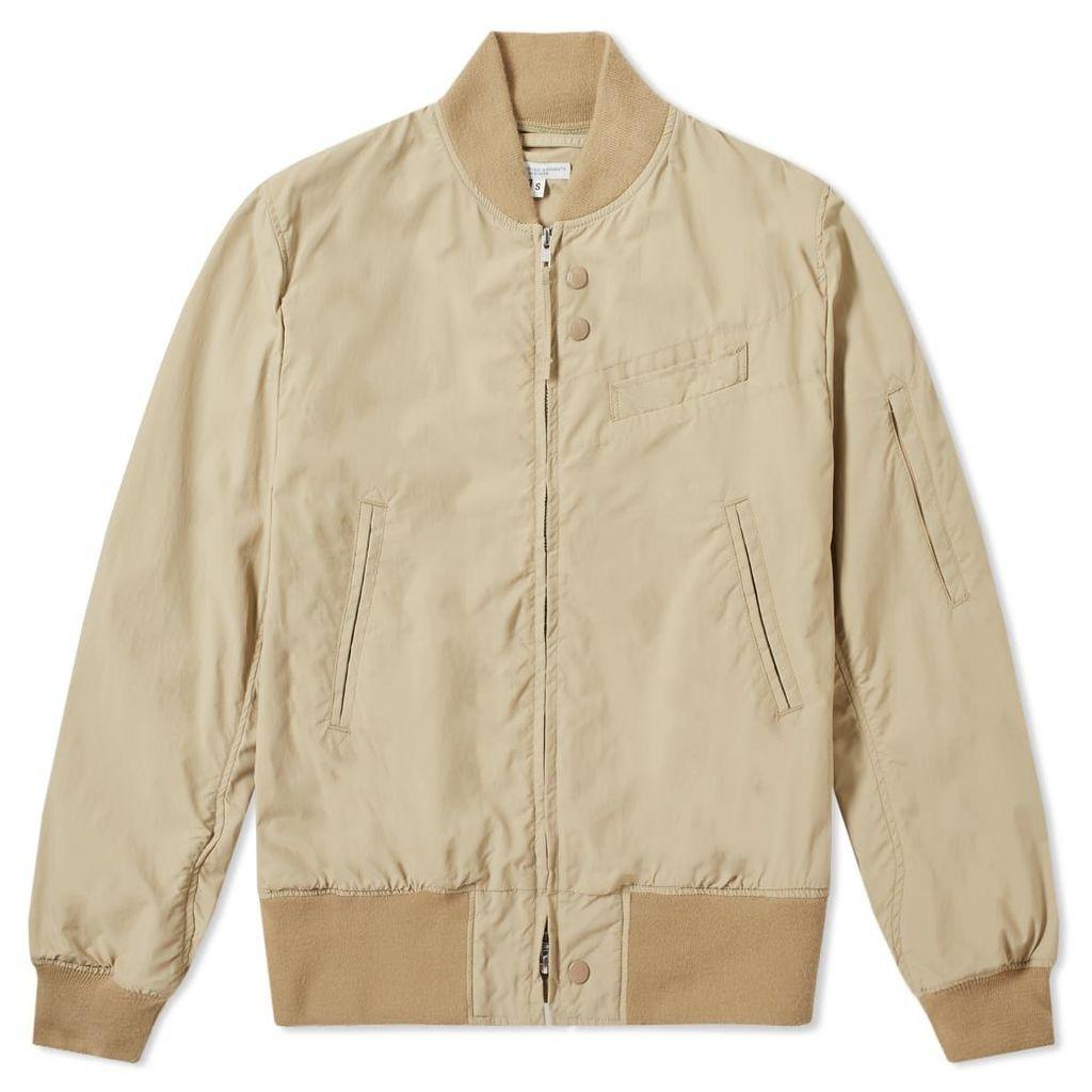 Engineered Garments Nylon Aviator Taffeta Jacket Khaki