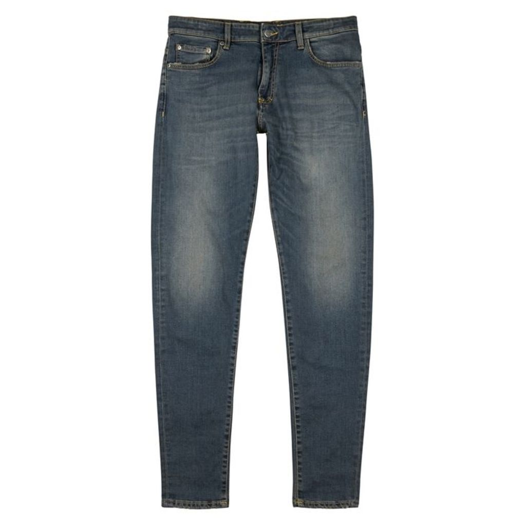 Represent Essential Blue Slim-leg Jeans