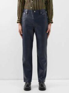Versace - Logo Print Panelled Cotton Track Pants - Mens - Multi