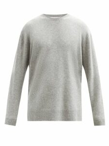 Raey - Loose Fit Crew Neck Cashmere Sweater - Mens - Grey