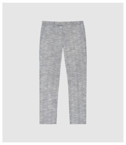 Reiss Ment - Modern Fit Trousers in Soft Blue, Mens, Size 38