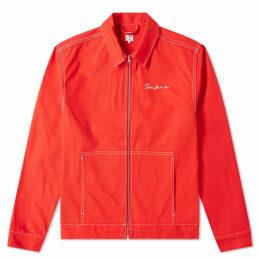 Polar Skate Co. 94 Denim Jacket Red