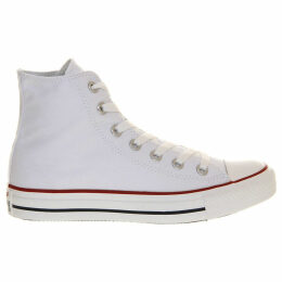Converse All Star canvas high-tops, Mens, Size: 7, Optical white