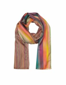 Paul Smith Designer Men's Scarves, Multi Clash Men's Scarf