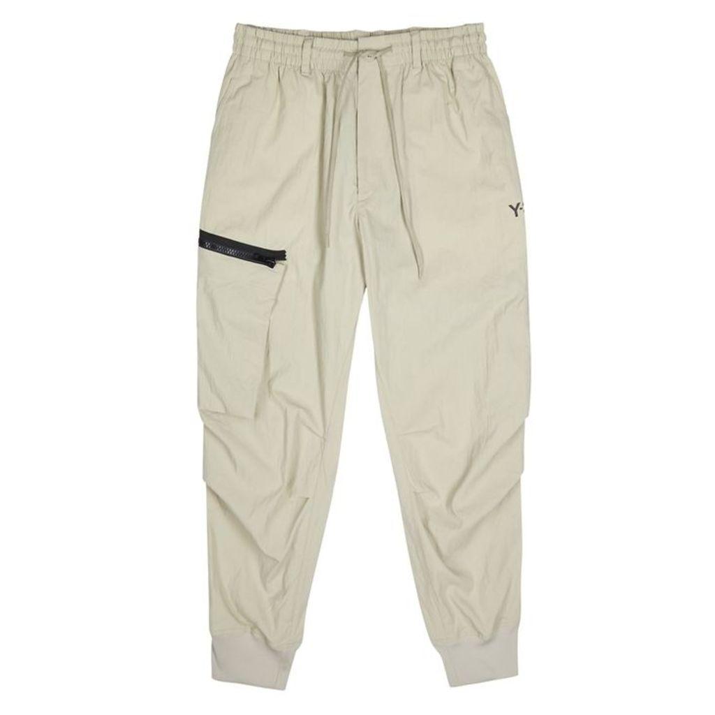 Y-3 Stone Brushed Shell Sweatpants