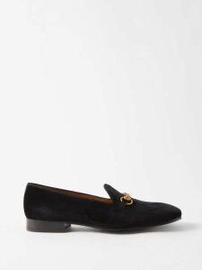 J.w. Brine - James Straight Leg Linen Blend Trousers - Mens - Blue