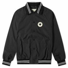 Drôle de Monsieur Not From Paris Varsity Jacket Black
