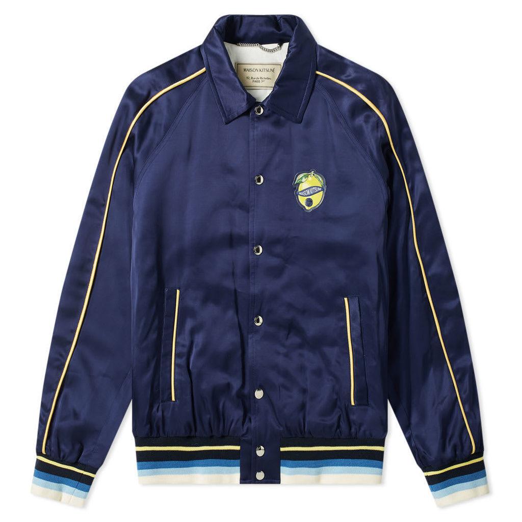 Maison Kitsuné Souvenir Jacket Navy