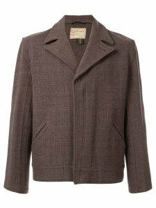 Fake Alpha Vintage boxy jacket - Brown