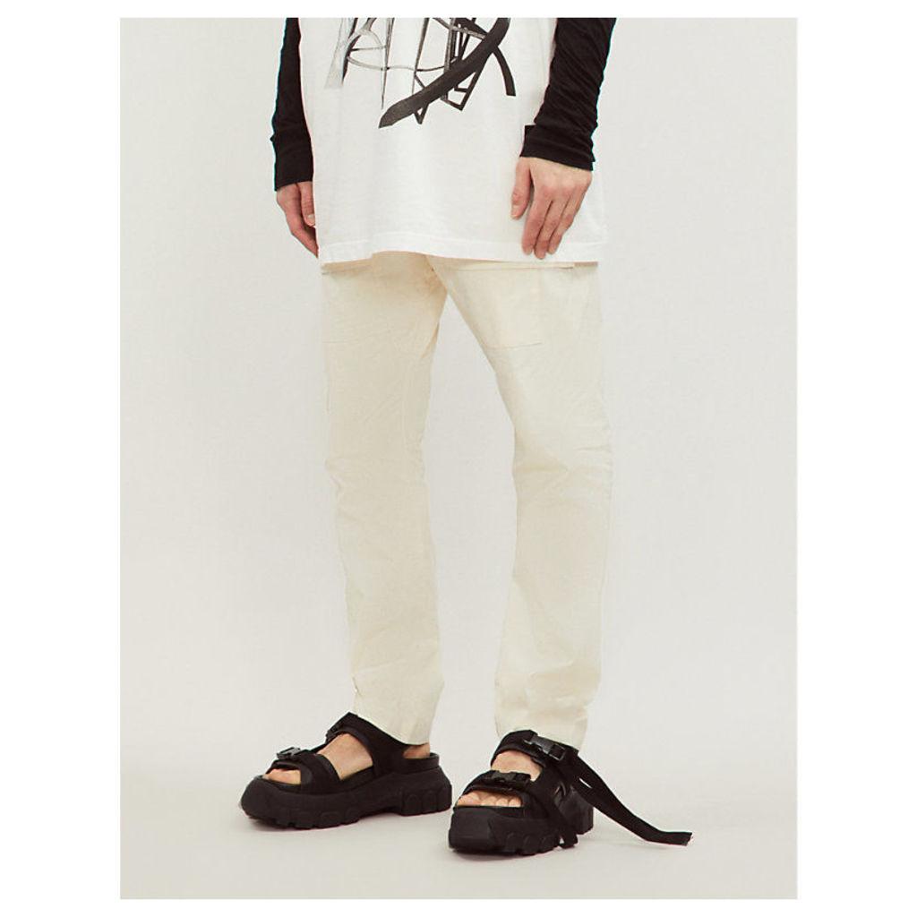 Creatch cotton cargo trousers