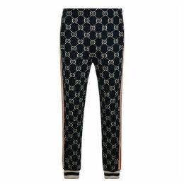 Gucci Gg Jacquard Logo Track Pants