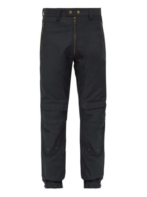 Gmbh - Yolanda Cotton Blend Trousers - Mens - Navy