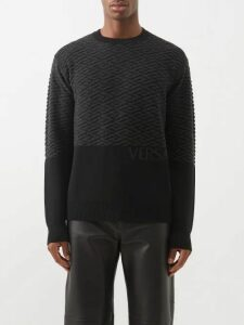 Needles - Geometric Print Satin Jacket - Mens - Pink