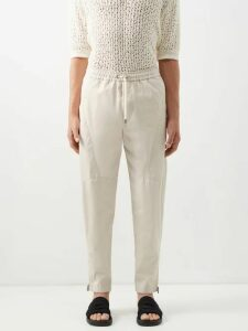 Needles - Butterfly Embroidered Track Jacket - Mens - White
