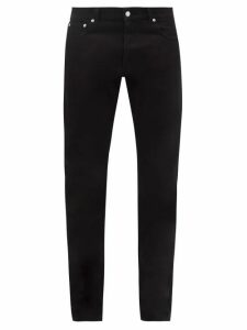 Bless - Longpleat Cotton Slim Leg Trousers - Mens - Blue