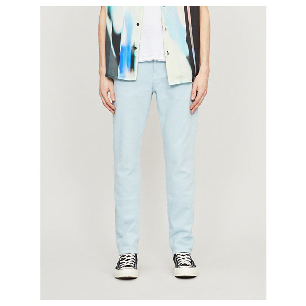 L'Homme faded slim-fit straight jeans