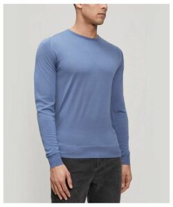 Lundy Crew-Neck Merino Wool Sweater