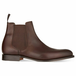 Church Mens Dark Brown Houston Leather Chelsea Boots