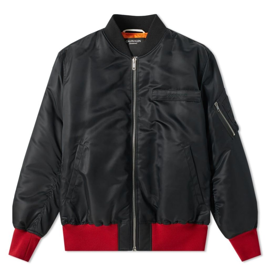 Calvin Klein 205W39NYC Back Print Bomber Jacket Black