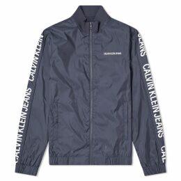 Calvin Klein Side Logo Track Jacket Night Sky
