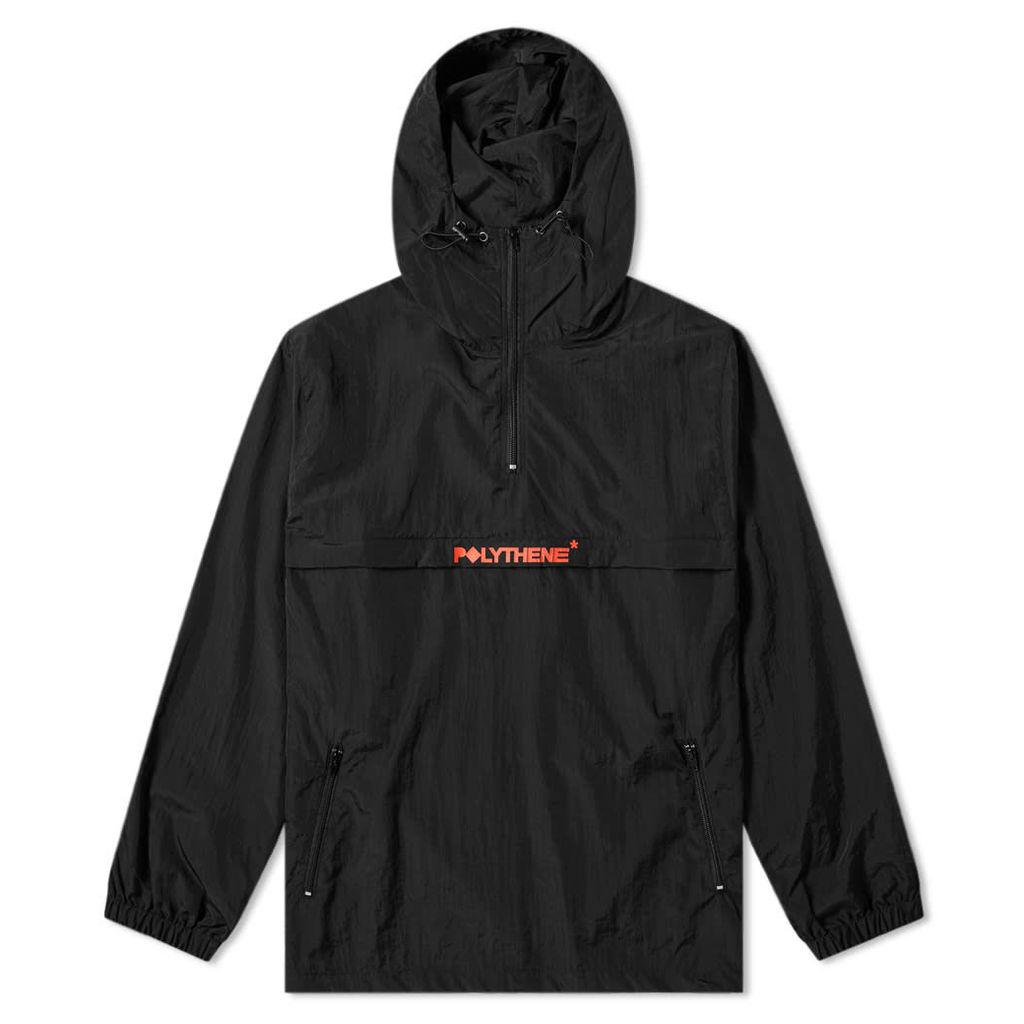 Polythene Optics Popover Jacket Black & Red