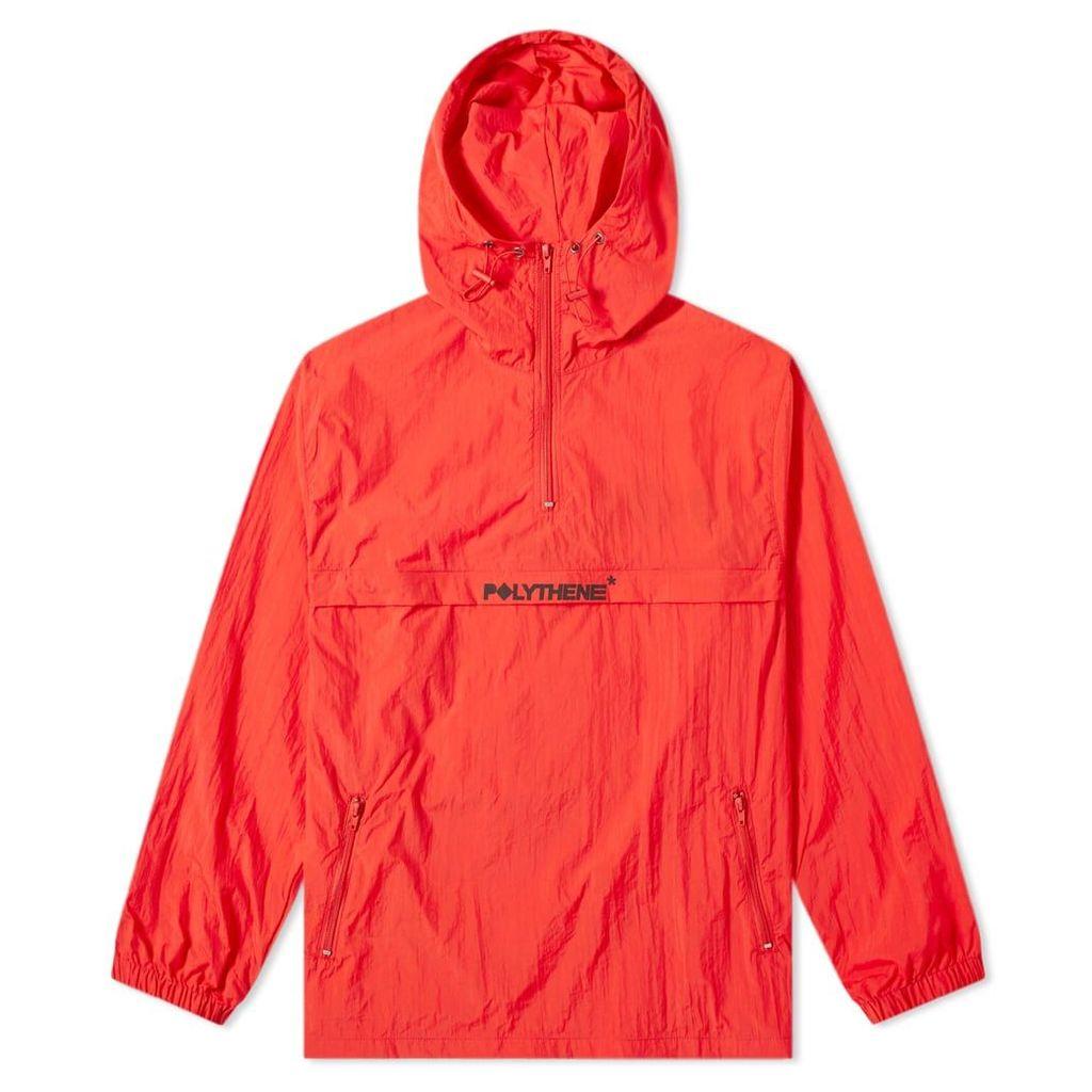 Polythene Optics Popover Jacket Red & Black