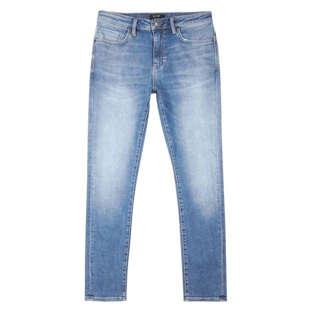 Neuw Rebel Form Light Blue Skinny Jeans
