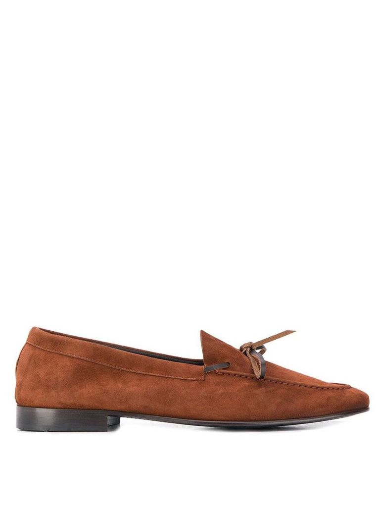 Leqarant classic slip-on loafers - Brown